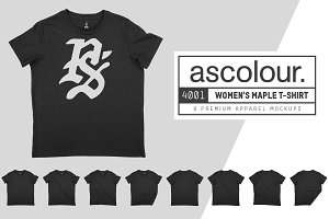 ASColour 4001 Women's Maple T-Shirt