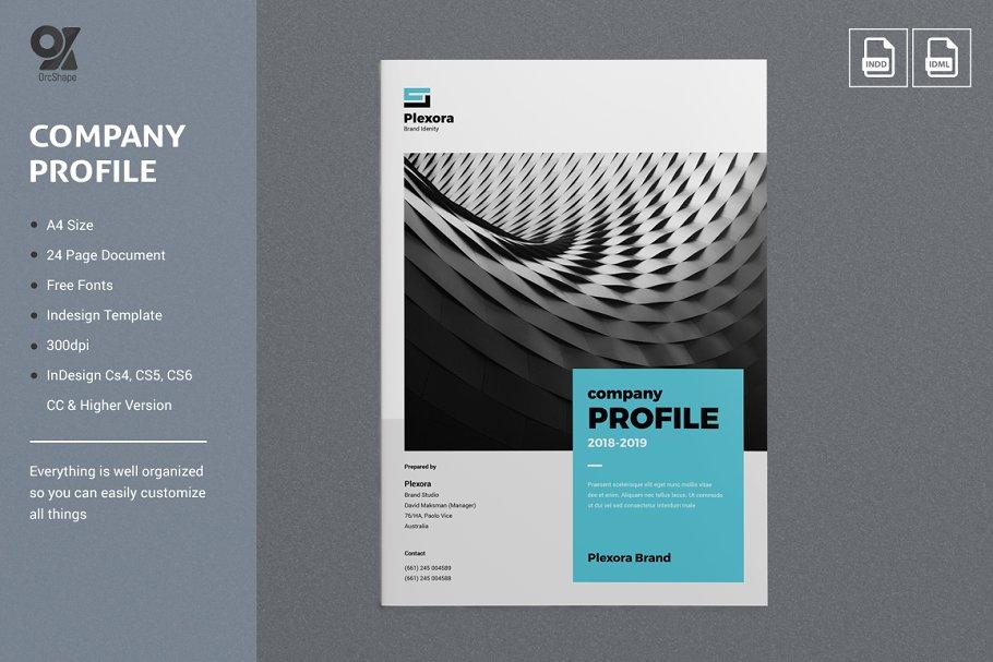company profile design free software