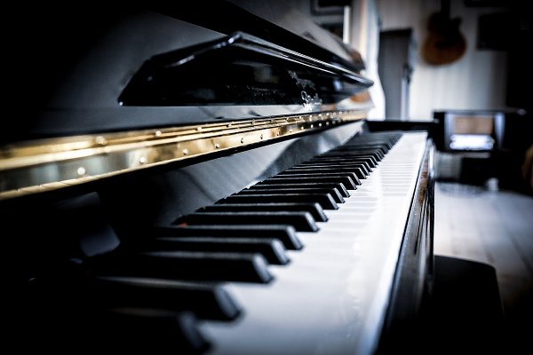 Arts & Entertainment Stock Photos: Janne Boer Design - Black piano