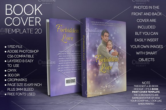 Book Cover Graphism ~ Book cover template graphics creative market