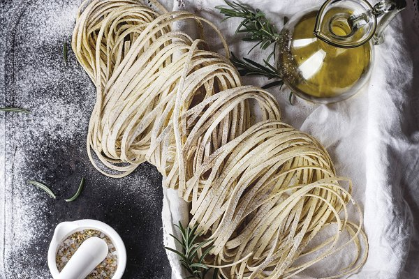 Fresh home made pasta