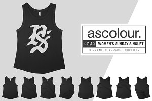 AS Colour 4004 Womens Sunday Singlet