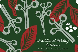 Traditional Holiday Patterns