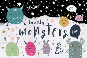 Lovely monsters bundle