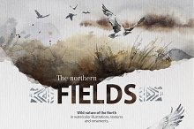 """The Northern Fields"" Collection by  in Illustrations"