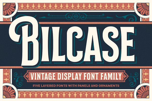 Fonts - Bilcase Font and Extras
