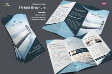 Business Trifold Brochure Vol. 4