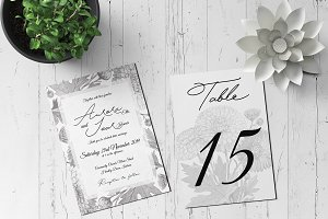 Wedding Invitation Suite - Aurora