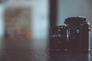 analog single-lens reflex camera