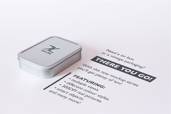 Download Tin Box Mockup