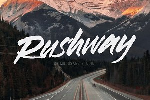 Rushway - Handwritten Display Font