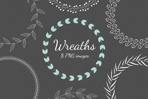Wreaths - Leaves and Berries