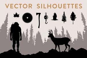 Vector Silhouette Bundle (50% off)