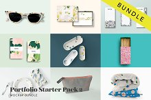 Mockup Bundle Portfolio Starter Pack by  in Product Mockups