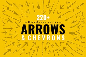 220+ Decorative Vector Arrows