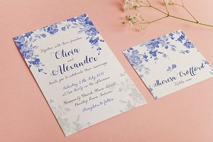 Wedding Invitation Suite - Olivia