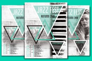 Jazz Fest Flyer Template