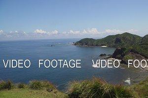 Coast of the Palau island
