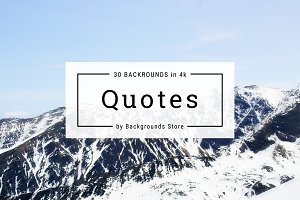 Quotes - Social media Images in 4k