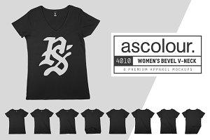 AS Colour 4010 Women's Bevel V-Neck