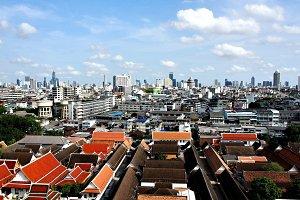 Bangkok's Skyline, Thailand