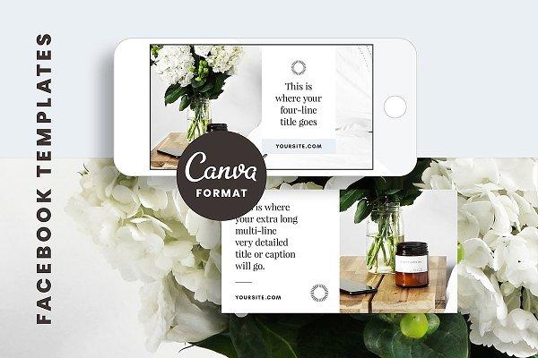 Facebook Post Templates Canva