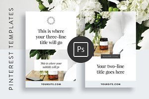 Pinterest Optimized Templates Adobe