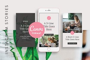 Instagram Stories Templates Canva