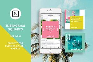Tropical Summer Instagram for Adobe