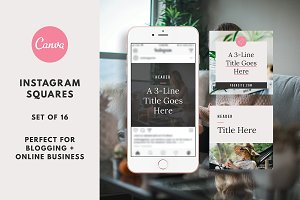 Instagram Post Templates Canva