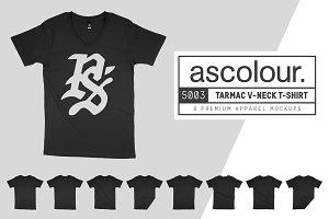 AS Colour 5003 Tarmac V-Neck Mockups