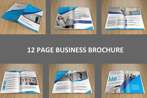 InDesign Business brochure - V128