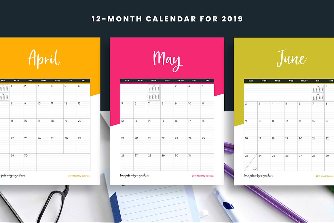 Calendar Lead Magnet for Canva