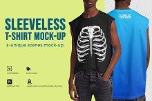 Sleeveless Shirt Mock-Up