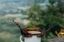 coffee the outdoors by  in Food & Drink