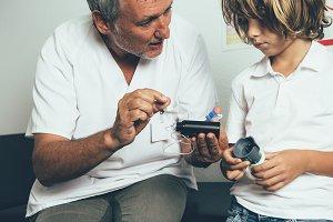 Pediatric endocrine explains the ins