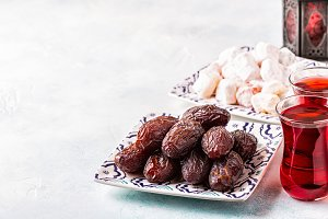 Fresh Medjool Dates.