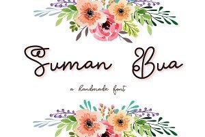 Suman Bua Script Font