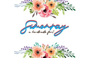 Simonray - Signature Font