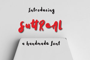 SuttReAl Typeface