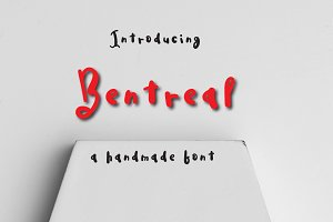 Bentreal Typeface
