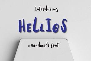 Hellios typeface