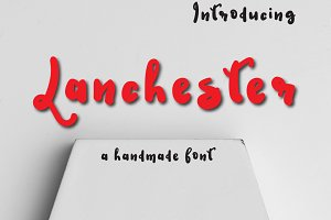 Lanchester Typeface