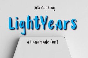 Lightyears Typeface