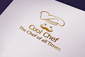 Cool Chef Logo Design