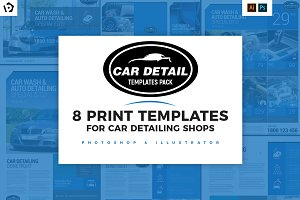 Car Detailing Templates Pack