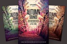 Autumn Sounds Flyer