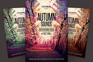 Autumn Sounds Flyer