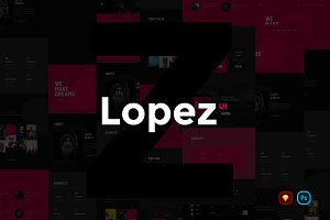 Lopez Creative Website UI Kit
