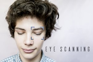f biometric eye and face verificatio